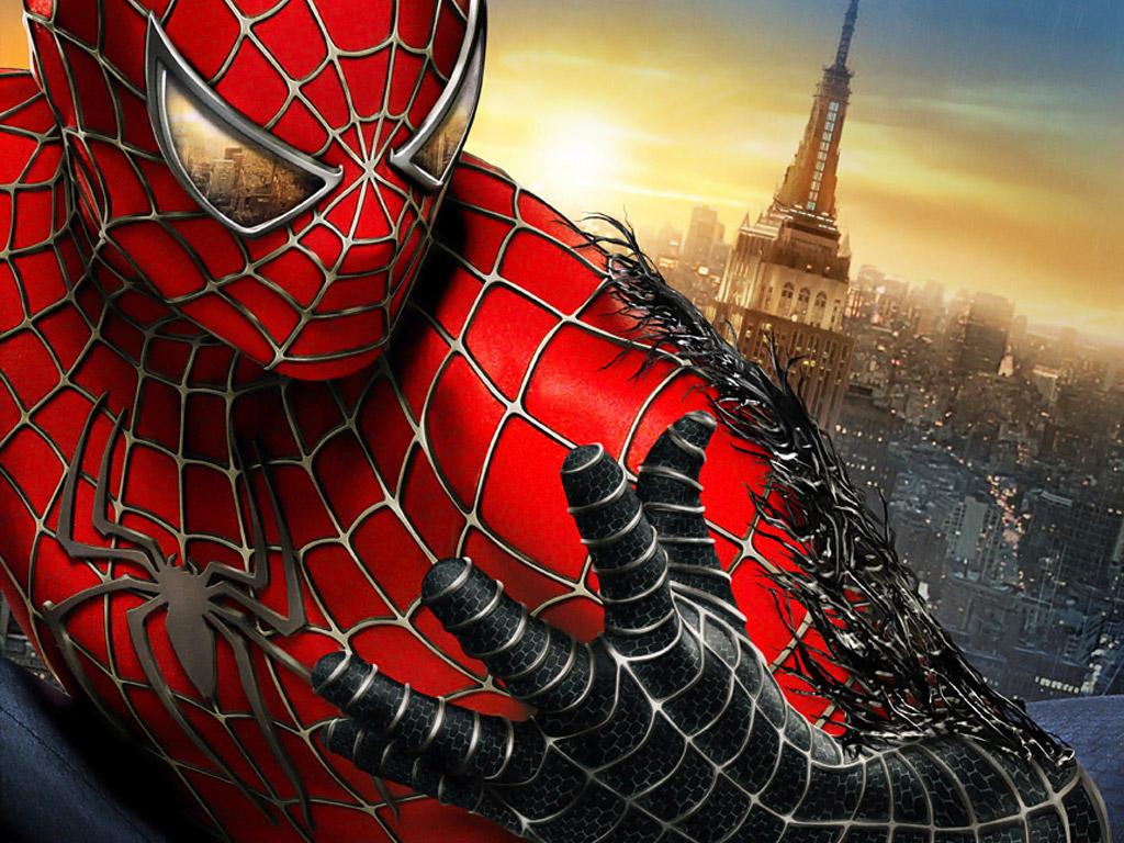 Обои человек паук 3 враг в отражении